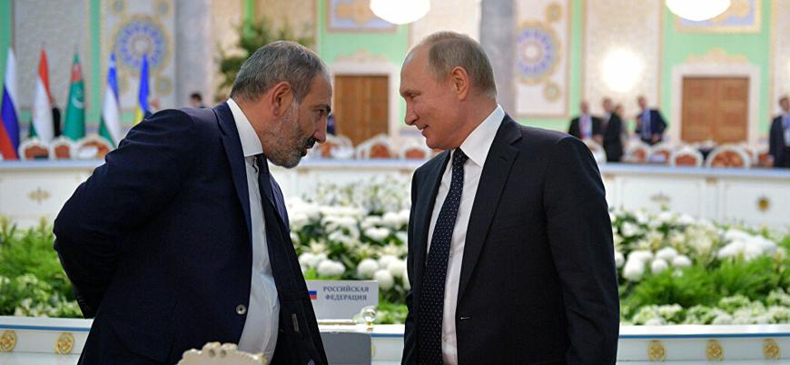 Ermenistan Başbakanı Paşinyan Putin'den yardım istedi