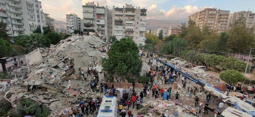 İzmir'deki depremde 26 can kaybı, 885 yaralı