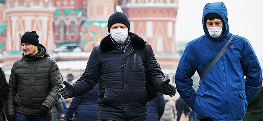 Koronavirüs: Rusya'da bir günde 1002 kişi öldü