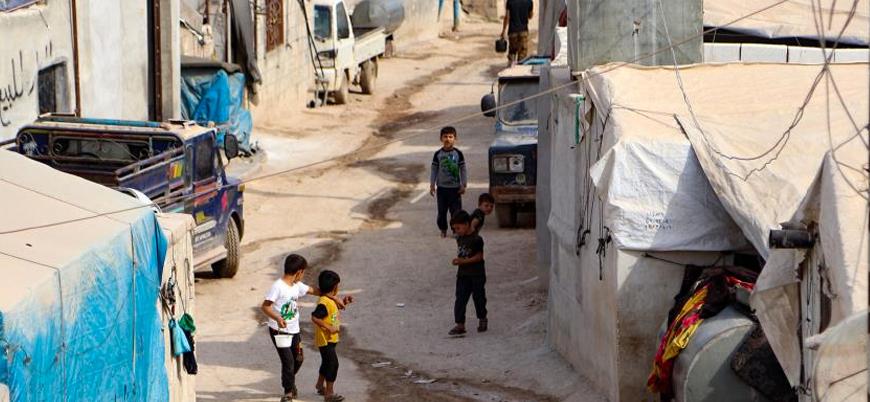 Koronavirüs İdlib'deki kamplarda yeni bir krize neden olabilir