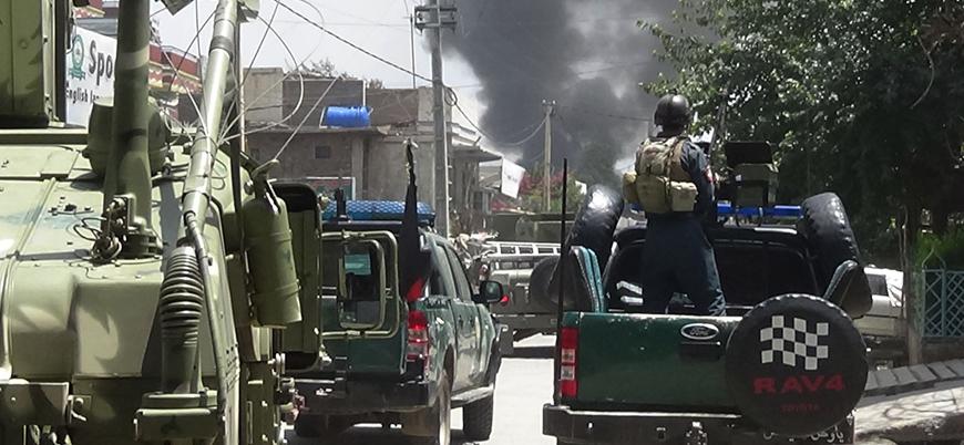 Taliban'dan hükümet güçlerine drone saldırısı