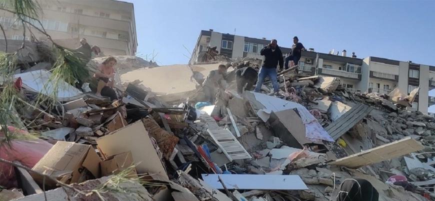 İzmir'deki depremde can kaybı 100'e yükseldi
