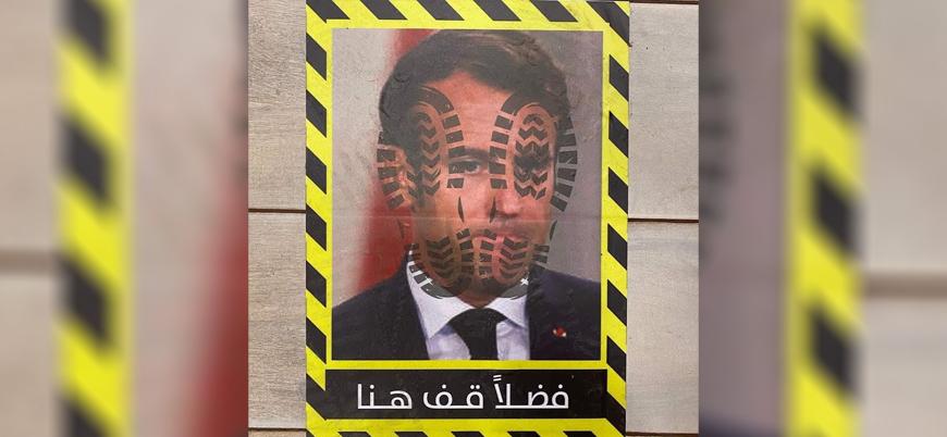 Macron Mısır'da 'ayaklar altına' alındı