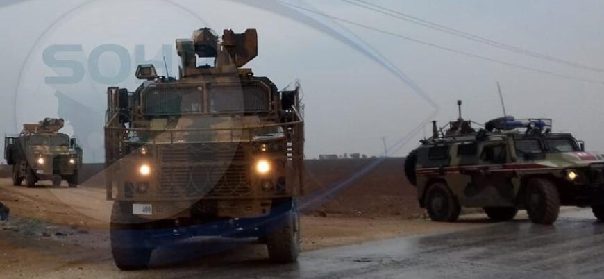 Rusya ve Türkiye'den Suriye'de ortak devriye