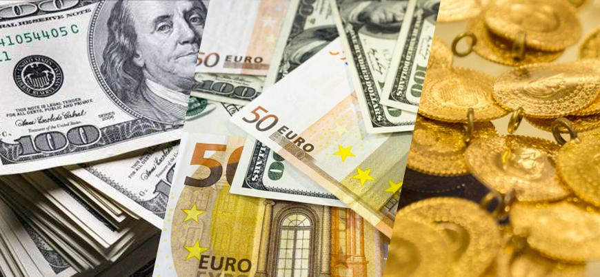 Euro/TL 10 lirayı aştı, gram altın rekor tazeledi