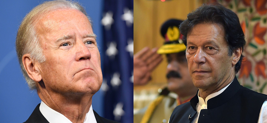 Pakistan Başbakanı Han'dan Biden'a tebrik