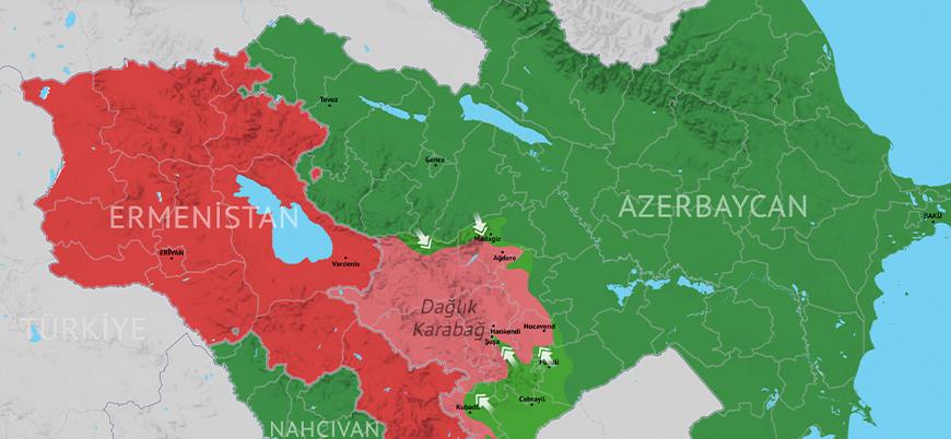 Dağlık Karabağ'da son durum (8 Kasım)