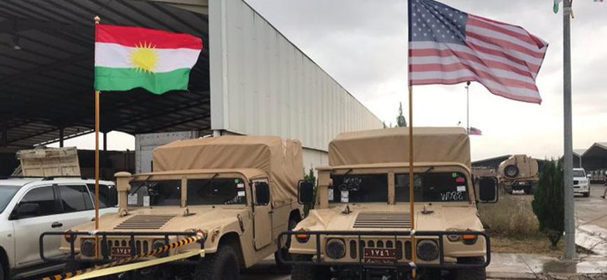 ABD Peşmerge'ye onlarca askeri araç hibe etti