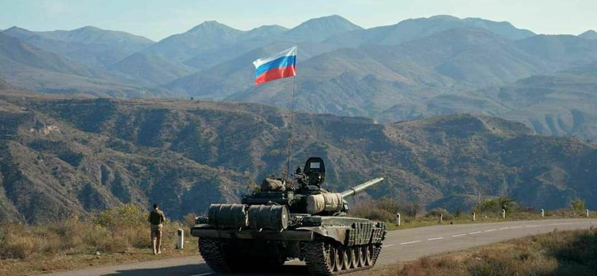 """""""Karabağ tamamen Rus askerlerince kontrol ediliyor"""""""