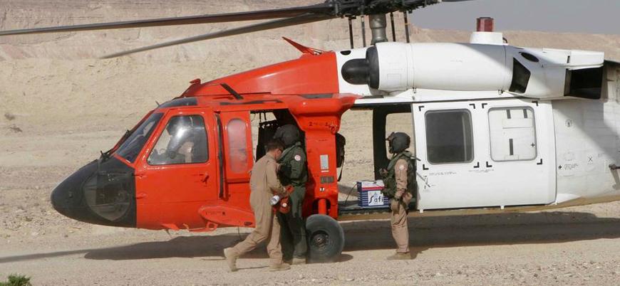 Mısır'da askeri helikopter düştü: 6'sı ABD askeri 8 ölü