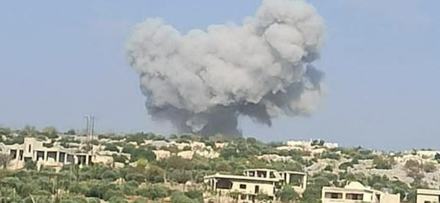 Rusya İdlib'de Türk askerlerinin olduğu bölgeleri vuruyor