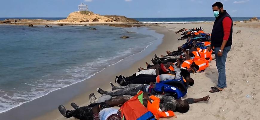 Libya'da göçmen teknesi battı: En az 100 ölü