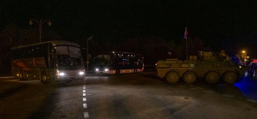 Rusya Ermenileri Dağlık Karabağ'a geri taşıyor