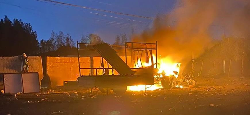 Bağdat'ta ABD Büyükelçiliği'nin bulunduğu Yeşil Bölge'ye füze saldırısı