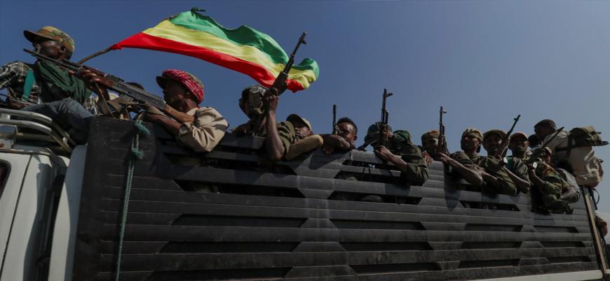 Etiyopya ordusu Tigray bölgesinin başkentine ilerliyor