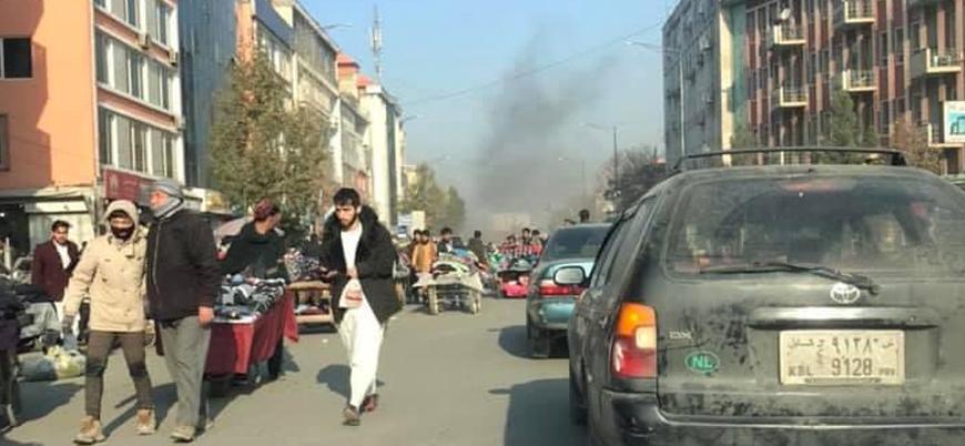 Afganistan'ın başkenti Kabil'de sivil alanlara füzeli saldırı