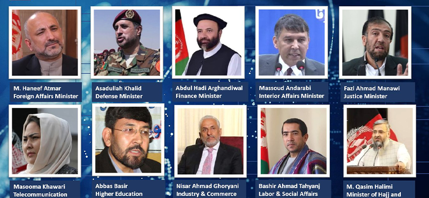 Kabil hükümeti yeni bakanlarını açıkladı