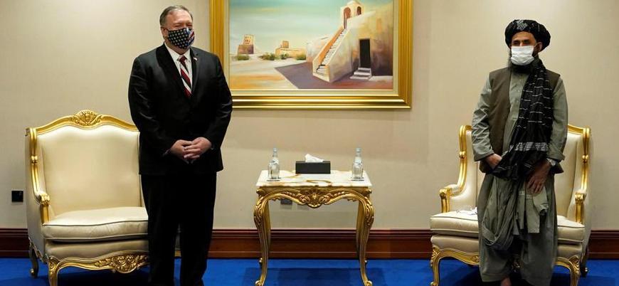 ABD Dışişleri Bakanı Pompeo Taliban heyetiyle görüştü
