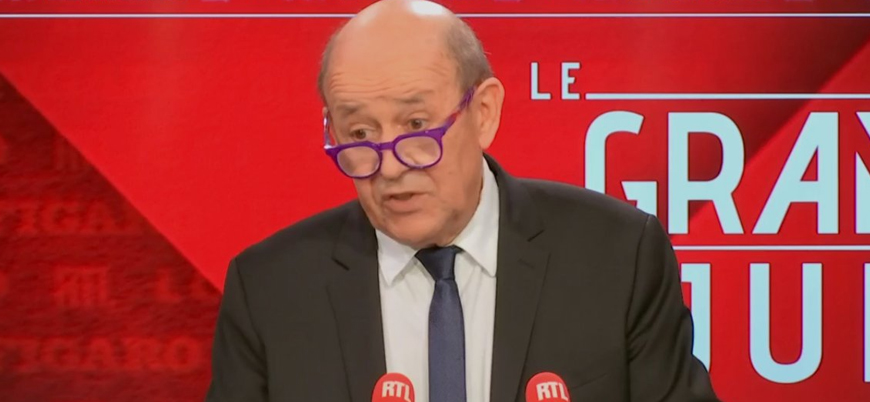 Fransa Dışişleri Bakanı: Erdoğan'ın açıklamaları yeterli değil, eylem bekliyoruz