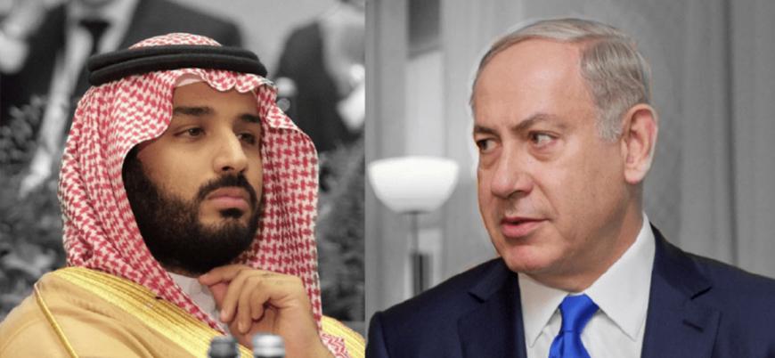 """""""İsrail Başbakanı Netanyahu gizlice Suudi Arabistan'ı ziyaret etti"""""""