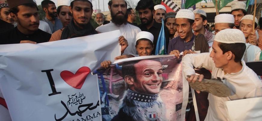 Pakistanlı bakan, Macron karşıtı mesajını geri çekti