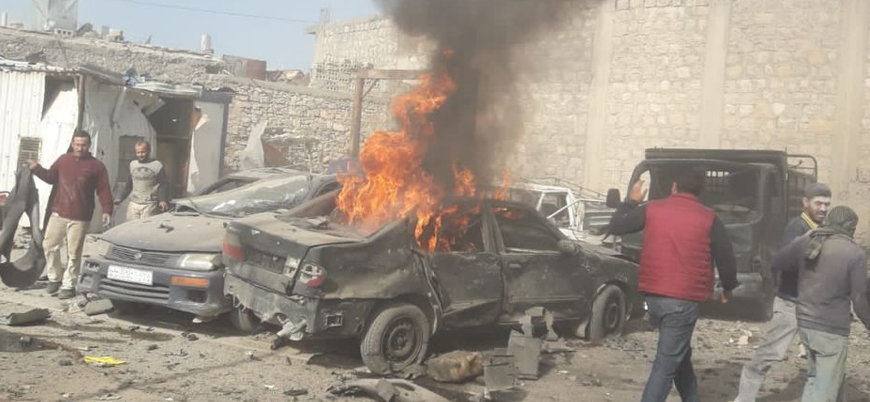 El Bab'ta bomba yüklü araç saldırısı