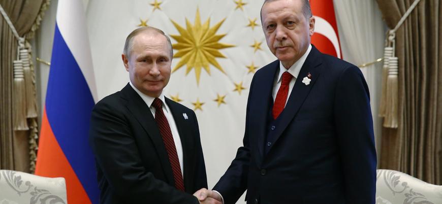 Erdoğan ile Putin arasında 'Suriye ve Karabağ' görüşmesi