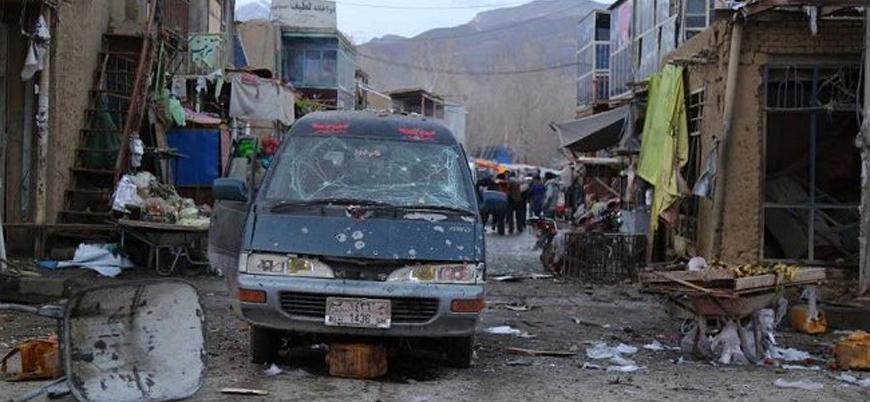 Afganistan'ın Bamyan kentinde pazar yerine bombalı saldırı