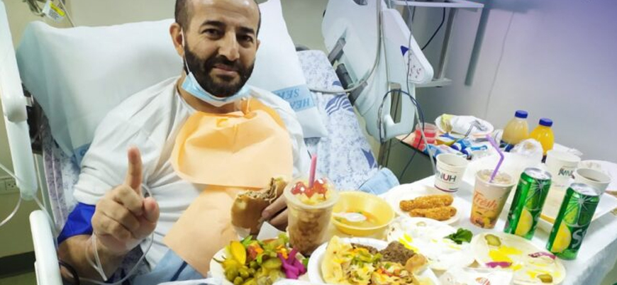 İsrail, 103 günlük açlık grevi sonrası Filistinli Mahir el Ahres'i serbest bıraktı
