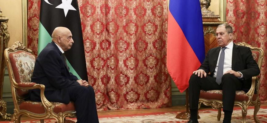 Libya süreci: Moskova'da Lavrov-Salih görüşmesi