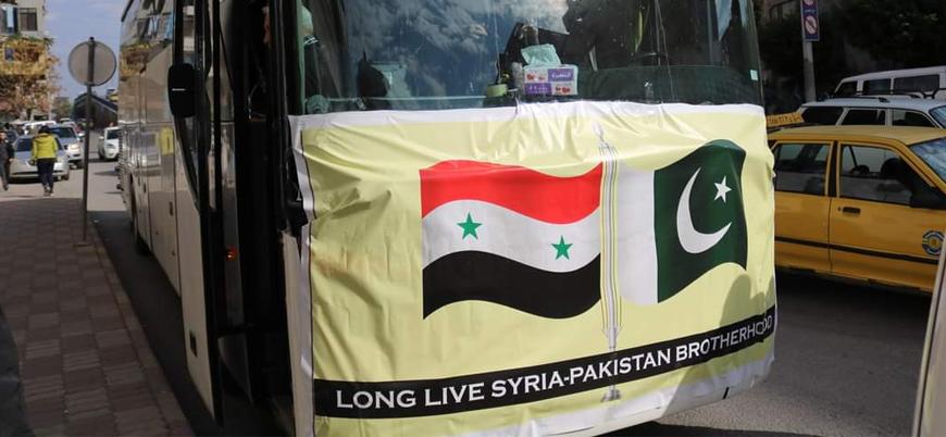 Pakistan'dan Esed rejimine bir ay içinde ikinci yardım