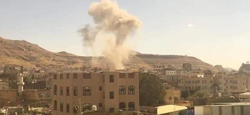 Suudi Arabistan'dan Yemen'in başkenti Sana'da hava saldırısı