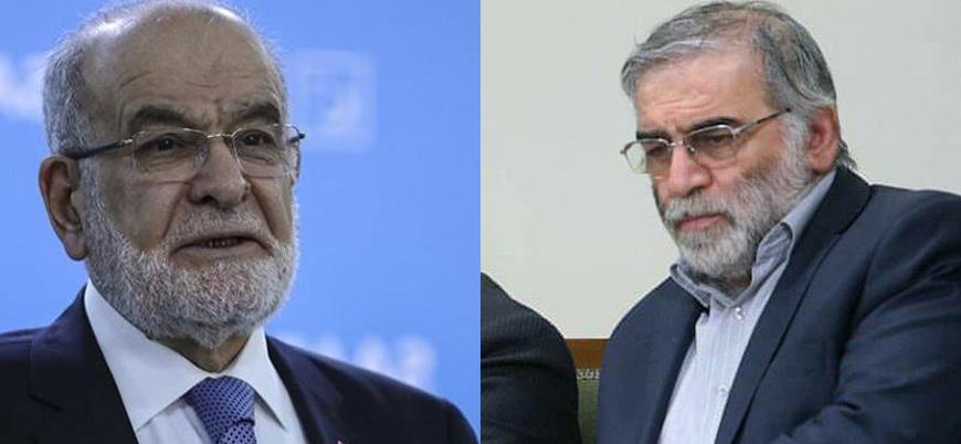 Temel Karamollağolu'ndan İran'a 'Fahrizade' taziyesi