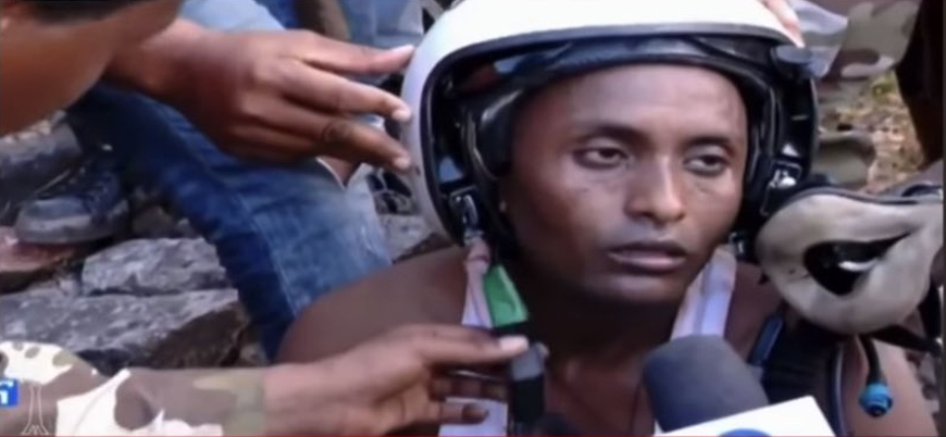 Etiyopya'da savaş uçağı düştü