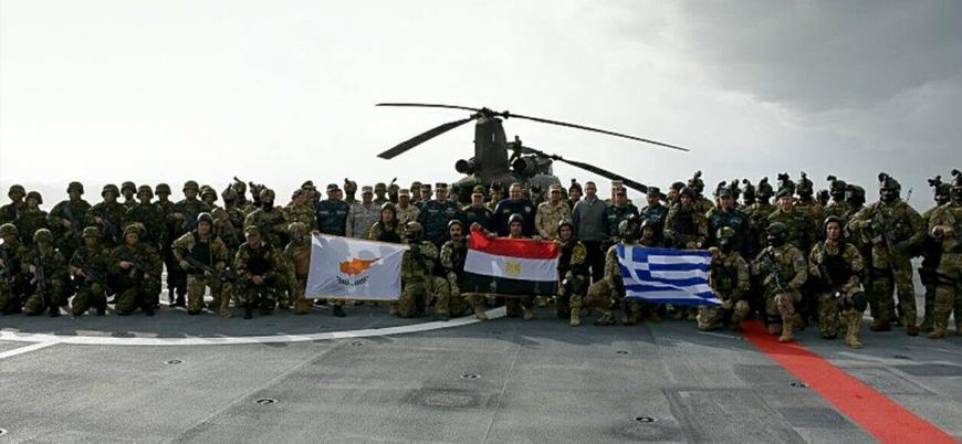 Doğu Akdeniz'de BAE, Fransa, Güney Kıbrıs, Mısır ve Yunanistan'dan ortak tatbikat