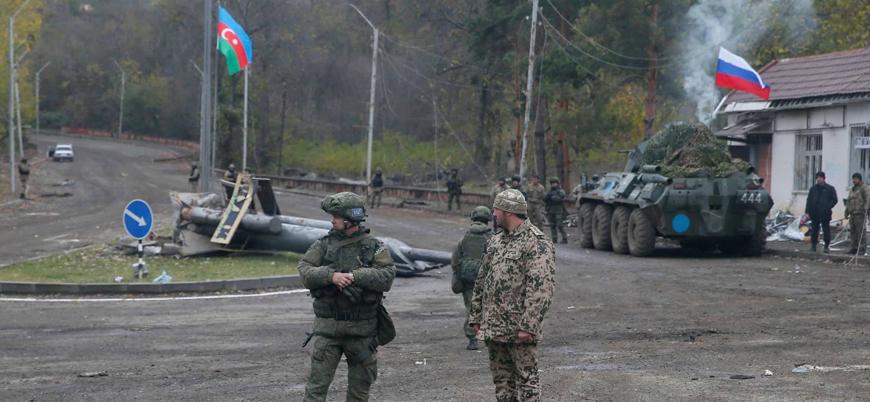 Azerbaycan ordusu 28 yıl sonra Laçın'ı teslim aldı