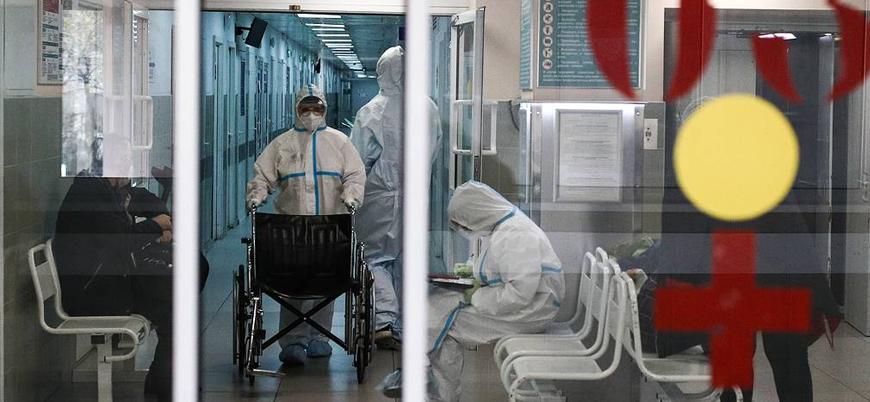 Koronavirüs: Rusya'da bir günde yaklaşık 600 kişi hayatını kaybetti