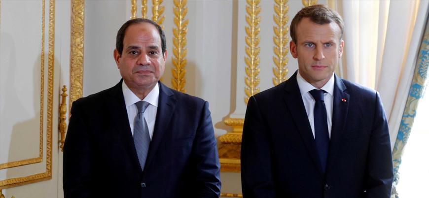Fransa Cumhurbaşkanı Macron Abdulfettah el Sisi'yi ağırlayacak