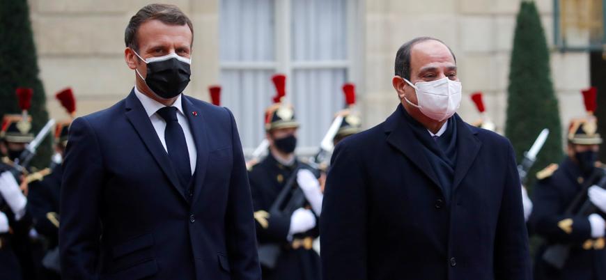 Macron: İnsan hakları ihlalleri sebebiyle Mısır'a silah satmaktan vazgeçmeyiz