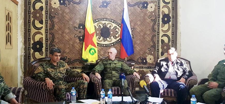 Suriye'de Rusya ile YPG'den Türkiye'ye karşı ortak girişim
