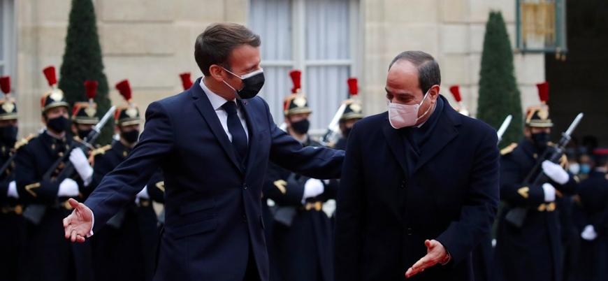 Macron Sisi'ye 'Fransa Şeref Nişanı' verdi