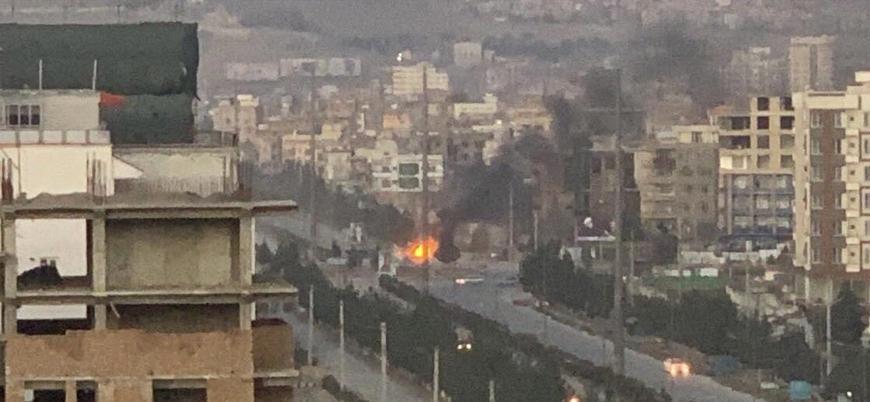 Afganistan'ın başkenti Kabil'de sivil alanlar füzelerle vuruldu