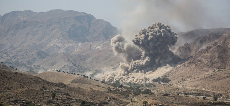 ABD Afganistan'da hava saldırılarına devam ediyor