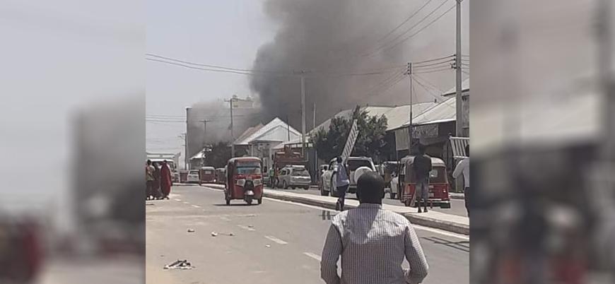 Somali'nin başkenti Mogadişu'da bombalı saldırı