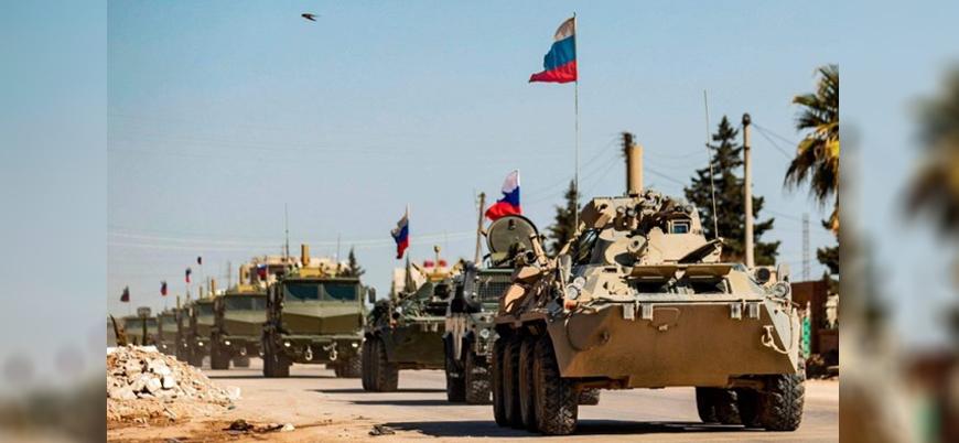 Rus askeri, İran ile Esed rejiminin paylaşamadığı El Bukemal'e girdi