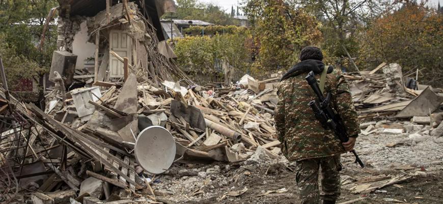 Dağlık Karabağ'da 'ateşkes ihlali' iddiaları