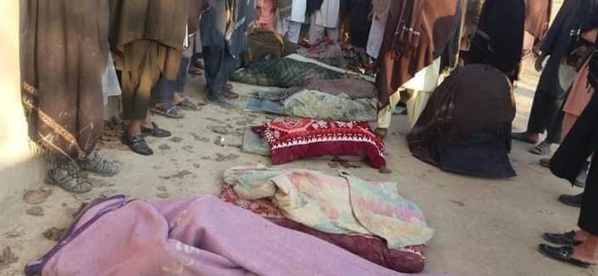 ABD Afganistan'da sivilleri vurdu, Taliban 'intikam' açıklaması yaptı