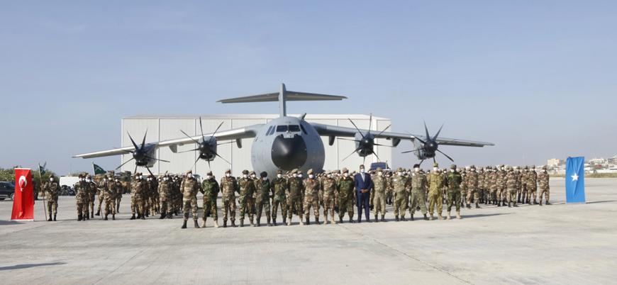 Türkiye Somali'de hükümet güçlerine askeri desteği sürdürüyor