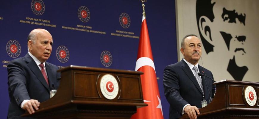 Çavuşoğlu: PKK konusunda Irak'a destek vereceğiz