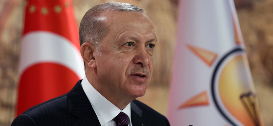 Erdoğan: ABD yaptırımlarının amacı Türkiye'nin önünü kesmektir